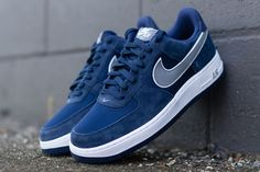 NIKE AIR FORCE 1 LOW (MIDNIGHT NAVY/COOL GREY) - Sneaker Freaker