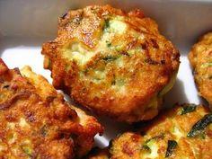 Boulettes de poulet et courgettes: