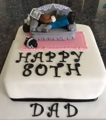 80th Birthday Cake For Dad See More Party And Ideas At One