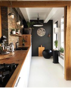 LOVE FOR 2018 ♥ Today I share ten photos of our house, and so I want to . - LOVE FOR 2018 ♥ Today I share ten photos of our house, and this is how I want to end this year wi - Home Decor Kitchen, Kitchen Interior, Home Kitchens, Kitchen Ideas, Kitchen Trends, Küchen Design, House Design, Design Ideas, Interior Design Living Room