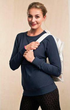 B-Warmer Sweatshirt from Ella Bella Maternity Boutique Nursing Tops, Nursing Clothes, Maternity Boutique, Maternity Nursing, Hooded Jacket, Boobs, Pullover, Sweatshirts, Jackets