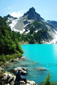 Mt. Daniels and Jade Lake Washington by DrMarksPhotoGallery