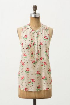 Tussie Tank #anthropologie