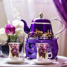 the purple!