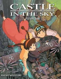 SAN FRANCISCO -- VIZ Media received cheers from thrilled attendees this past weekend during its official panel at Chicago's premier pop culture and comics convention C2E2, where it announced the winter release of a pair of full-color picture books for the famed Studio Ghibli films Castle in the Sky and Princess Mononoke.