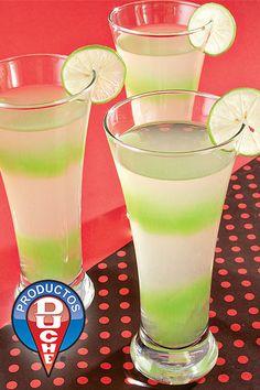 Gelatina de Tequila Tequila, Jello Recipes, Dessert Recipes, Desserts, Mousse, Jello Gelatin, Dessert Drinks, Glass Of Milk, Jelly