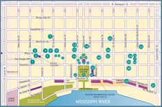 (October 2015)Self Guided French Quarter Walking Map