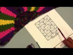 ▶ Learn How to Crochet the Fandango Throw with Red Heart Yarns - YouTube