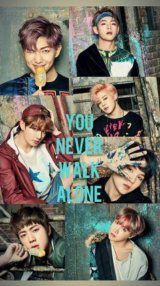 Wallpaper BTS [방탄소년단] | You Never Walk Alone | Concept 1