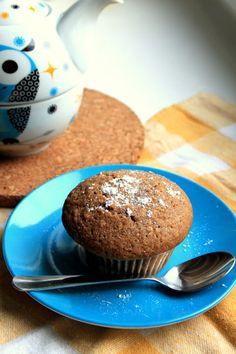 tworki: Muffiny kawowo-chałwowe