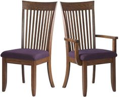 Lancaster #Chair in Rustic Oak with Fabric Seat