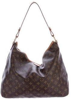 ba7780fc2842 Louis Vuitton Monogram Delightful MM Louis Vuitton Bags 2017