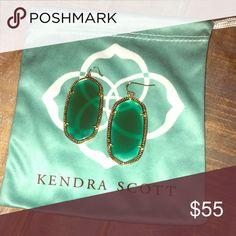 Kendra Scott Danielle earrings Have been worn twice Kendra Scott Jewelry Earrings