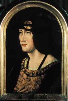 LOUIS XII King of France, grandson of Louis of Orleans, the brother of Charles VI, and son of the poet prince, Charles of Orleans. Louis had no children. After his accession he had divorced his virtuous and ill-favoured queen Joan, and had married in 1499 Anne of Brittany the widow of Charles VIII. On her death January 1514 in order to detach England from the alliance against him he married on the 9th of October 1514 Mary Tudor sister of Henry VIII of England. He died on the 1st of January…