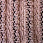 different types of knitting stitches with pictures Lace Rib 5