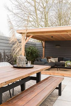 Precious Tips for Outdoor Gardens - Modern Outdoor Seating, Outdoor Rooms, Outdoor Living, Outdoor Decor, Backyard Patio Designs, Backyard Landscaping, Back Gardens, Outdoor Gardens, Garden Design