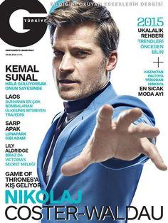 COVER  GQ Türkiye Ocak 2015