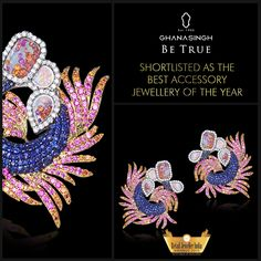 Our plethora of colourful gemstones was shortlisted in the Accessory Jewellery of the Year category in the Retail Jeweller India Awards, '15, and we're honoured!