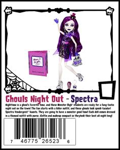 2013 Ghouls Night Out Spectra [this line is so incredibly cute! they look better in person! ~D]
