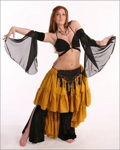 Renaissance Fair Cabaret BellyDance Tribal Gypsy Harem Costume Arm Sleeves A31   eBay