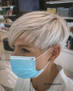 Short Hair Undercut, Short Pixie Haircuts, Hairstyle Short, Pixie Bob, Style Short Hair Pixie, Blonde Pixie Hairstyles, Short Cut Hair, Short Undercut Hairstyles, Easy Hairstyles