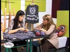 Cómo tejer un sacón multitalle al crochet - YouTube