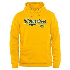 Utah Valley Wolverines American Classic Pullover Hoodie - Yellow
