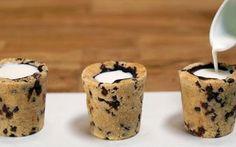 Imaginez un cookie en forme de petit verre à shot, dans lequel on verserait, non pas de la vodka, mais du lait. C'est l'idée géniale de Dominique Ansel, un chef pâtissier français installé à New York. Et on vous explique comment réaliser ce dessert… festif. Santé!