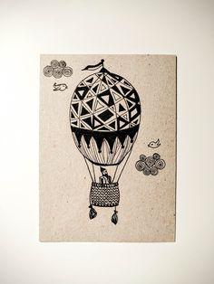 air ballon ink sketch Air Ballon, Sketch, Ink, Illustrations, Cards, Sketch Drawing, Illustration, Sketches, India Ink
