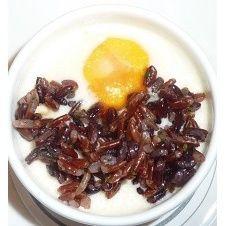 Uova e riso venere