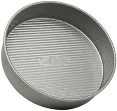 USA Pan Bakeware Cake Pan, Nonstick & Quick Release Coating, Made in the USA from Aluminized Steel