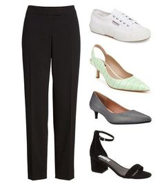 Shoes that go with straight leg pants   40plusstyle.com