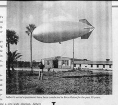 Jalbert Aerology Lab. Boca Raton -  vznáší se konstrukce D. Jalberta