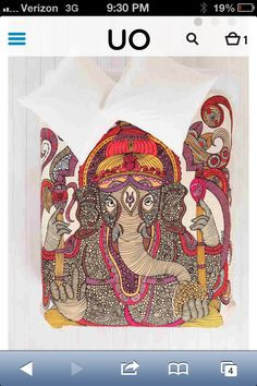Looking for this duvet #uo #urbanoutfitters #duvet #ganesha