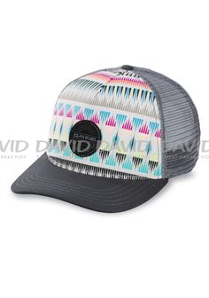 Dakine Women s Zanzibar Trucker Hat  The Dakine Zanzibar Trucker Hat has an  awesome design guaranteed to get looks. It has an adjustable back that  makes for ... 2915a017f6a1