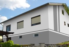 farbe warmes grau hausfassade pinterest warmes grau. Black Bedroom Furniture Sets. Home Design Ideas