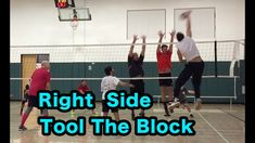 TOOL the Block as RIGHT SIDE HITTER - Volleyball Tutorial