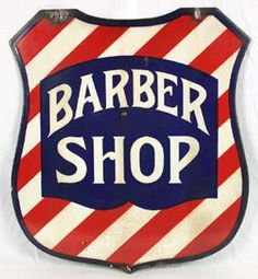 I have a friend who is a barber. For his birthday I made him a vintage inspired Barber Shop sign. Barber Sign, Barber Shop Pole, Vintage Labels, Vintage Signs, Vintage Men, Barbershop Quotes, Barber Shop Vintage, The Barber Of Seville, Shaved Hair Cuts