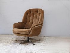 Antiques Atlas - Danish 1960's Mid Century Upholstered Lounge Chair