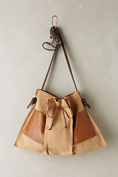 Pinch-Pleat Messenger Bag - anthropologie.com #anthrofave