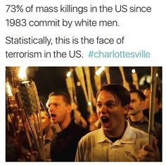 So stop saying Muslim terrorists are the problem in America..... Stop saying black lives matter is the problem in America. If your searching for excuses as to why these other people are to blame instead of looking at the facts, chances are YOU are the biggest problem in America!!!'