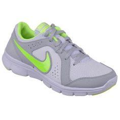 Nike FLEX EXPERIENCE LTR (GS) Beyaz Neon Yeşil Kız Çocuk Koşu Ayakkabısı