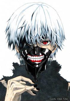 Kaneki Ken (Tokyo Ghoul) by CobraxKinana on DeviantArt