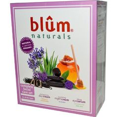 BLUM NATURALS COMPLETE FACIAL CARE SET 3 CT *** Want to know more, click on the image.