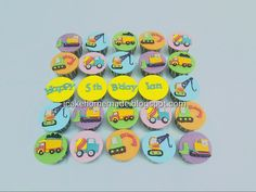 Construction cupcakes  | Flickr Construction Cupcakes, Happy Birthday, Happy Brithday, Urari La Multi Ani, Happy Birthday Funny, Happy B Day, Happy Birth
