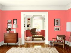 Bird of Paradise  Family Room Benjamin Moore