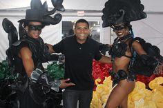 Fantasia criada por carnavalesco da Unidos da Tijuca para cerimônia de abertura ficará exposta no Museu Olímpico