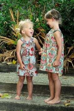 Abby Dress PDF Sewing Pattern and Tutorial- Size 12/18 to Size 8. $6.00, via Etsy.