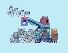 Hamster Circus on Behance