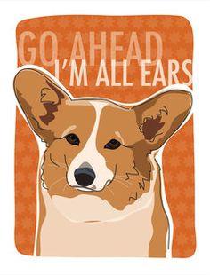 Go ahead -- I'm all ears!